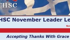 November 2011 Leader Letter