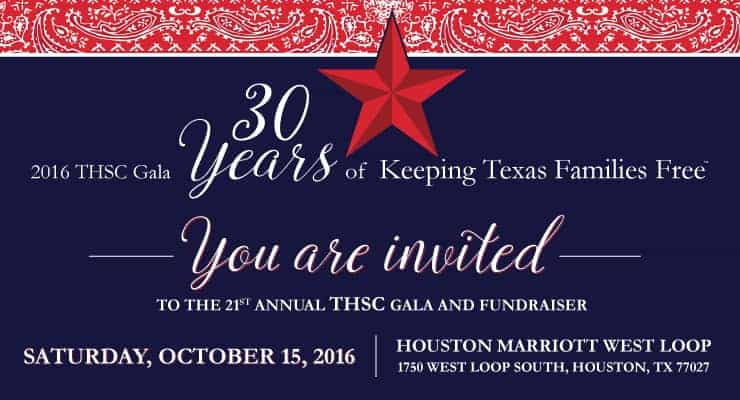 THSC Gala and Fundraiser - October 15, 2016