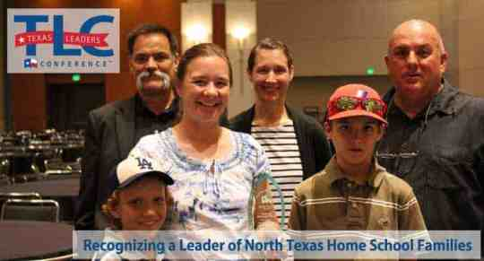 2015 North Texas Homeschool Leader of the Year