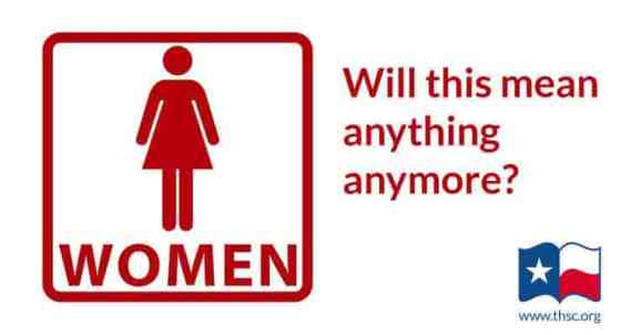 Women's restroom sign - Will this mean anything anymore?
