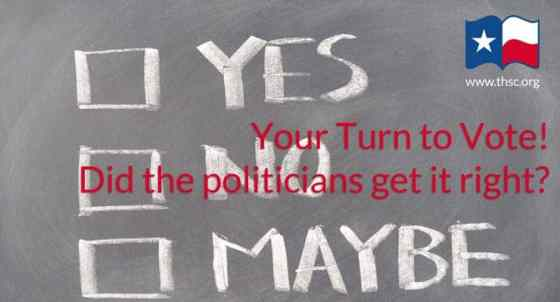Your turn to vote! Did the politicians get it right?