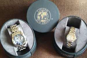 citizen eco drive watches