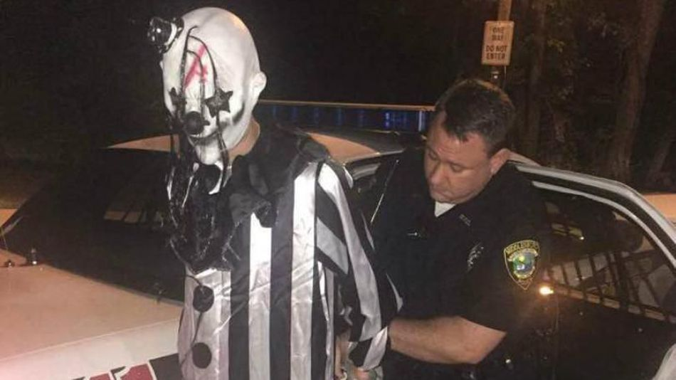 Psycho Clown Busted For Lurking In The Kentucky Woods