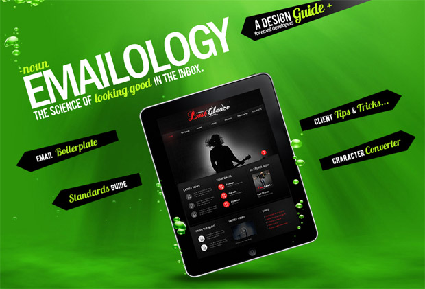 Captura sitio web Emailology