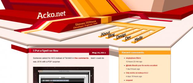 Diseño web con profundidad