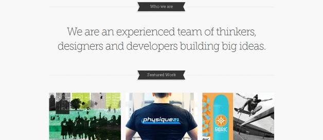 Tipografía creativa en diseño web