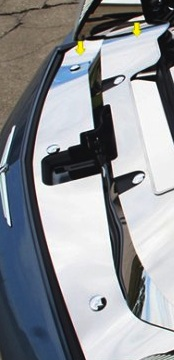 S_S Header Plate Trim Set