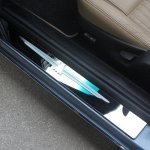 T-BIRD LOGO DOOR SILL ANGLE VIEW