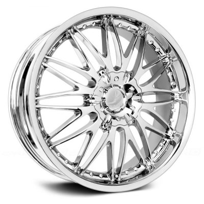 'Classic Regency' Chrome Wheel