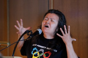 "Muriel Marjorie embodies the bride of the DTES and tells Vancouver to ""man up!"""