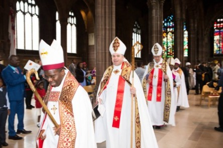 Steven Lyn Evans' consecration as Bishop by the Apostolic Pastoral Congress at Manchester Cathedral.