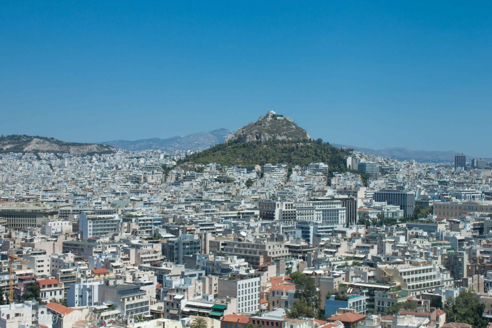 Athens, as seen from the Acropolis