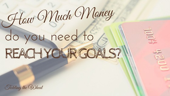 How Much Money Do You Need to Reach Your Goals?