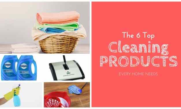 The 6 Cleaning Products Every Home Needs