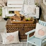 Fall Pillows, Printables, and Porches – Oh My!