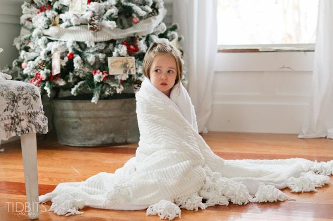Tassel Throw Blanket DIY-37