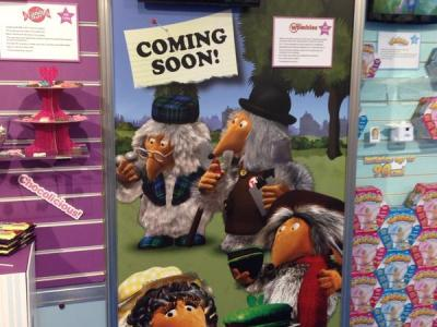 Wombles coming soon poster at Toy Fair 2015