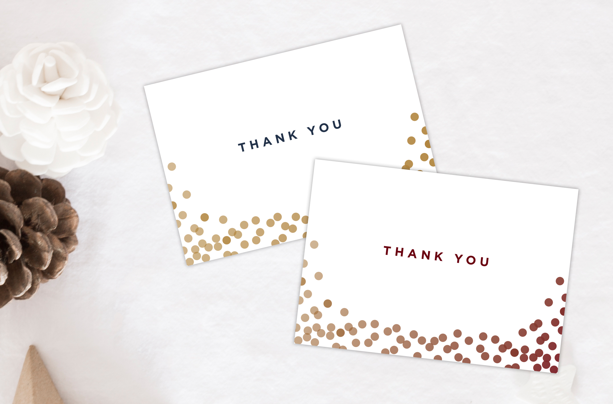 Fullsize Of Christmas Thank You Cards