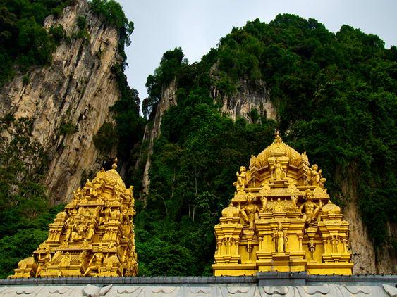 Kuala Lumpur Batu Cave Exterior Shrines