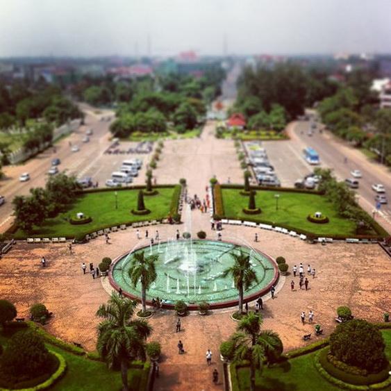Vientiane Laos Patuxai