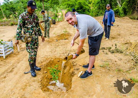 Kui Buri National Park Reforestation Activity