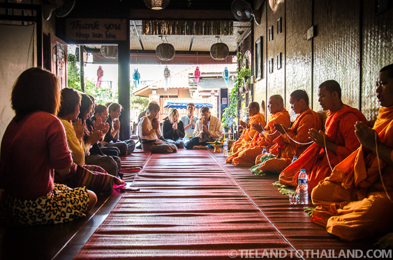 Monk Blessing Ceremony