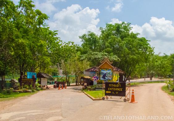 Entrance to Sri Lanna National Park