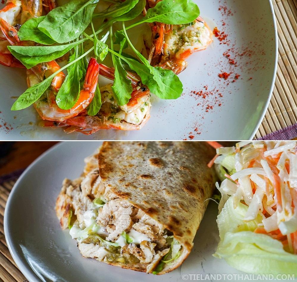 Chiang Dao Nest 1 European Lunch Menu