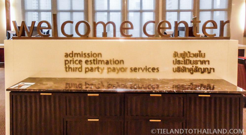 Bumrungrad International Hospital10th Floor Sky Lobby New Patient Registration Center