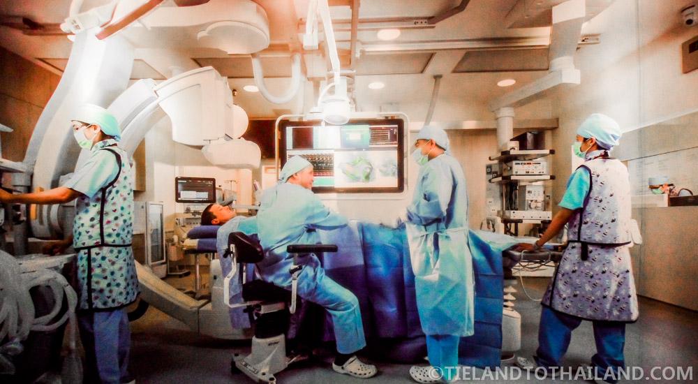 Bumrungrad International Hospital Surgery Room