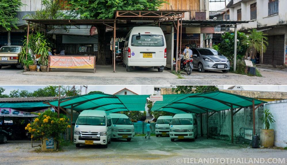 Chiang Mai to Chiang Dao VIP Van