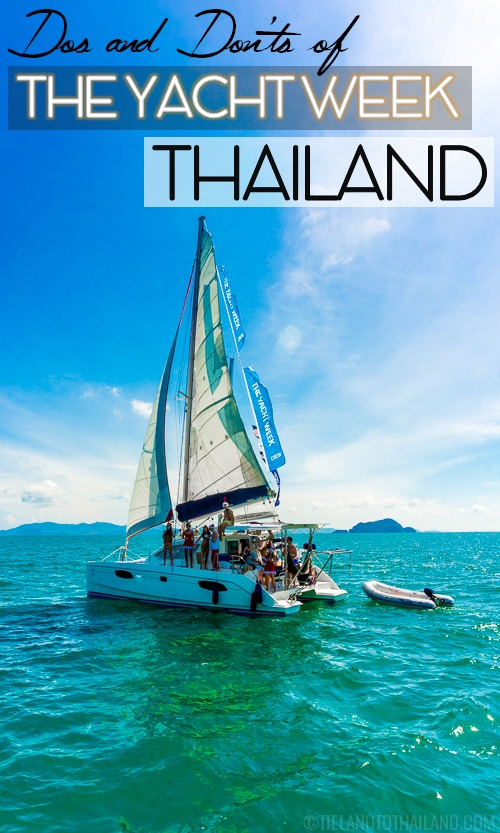 Get ready for the sailing, island hopping and parties of the ultimate boat trip, The Yacht Week Thailand| Tieland to Thailand