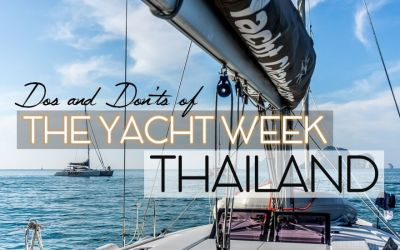 Dos and Don'ts of The Yacht Week Thailand