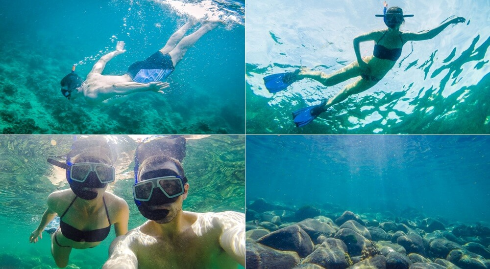 Snorkeling at Koh Rok Thailand with Opal Speedboat