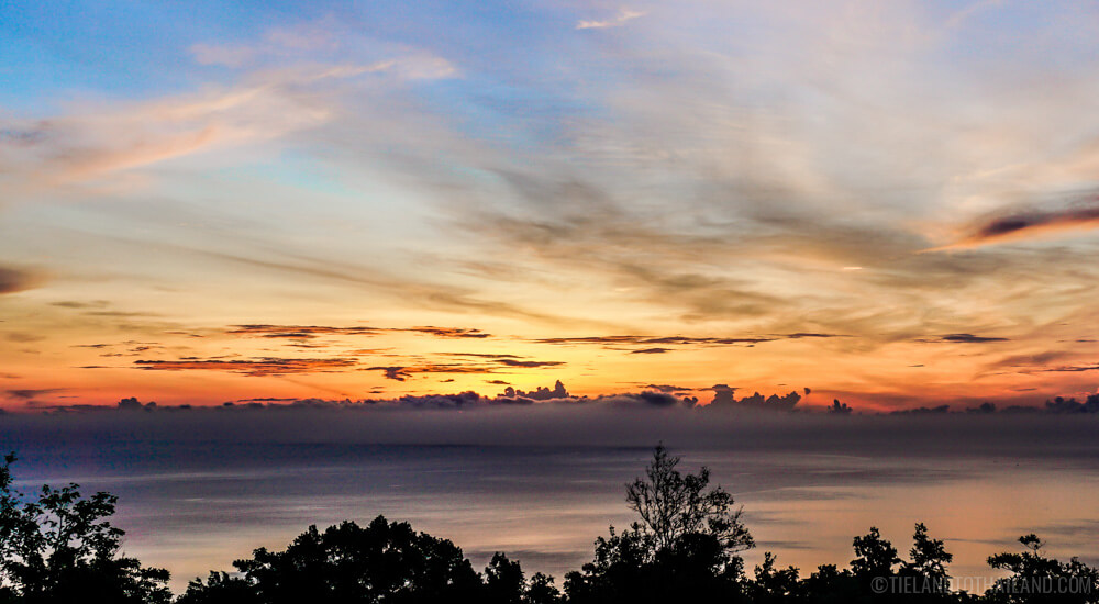 Things to Do in Chumphon: Sunrise at Khao Dinsor