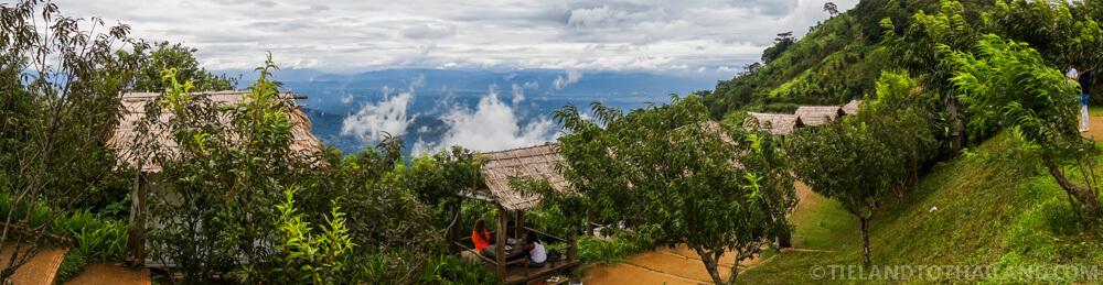 Mountain views during our trip to Mon Cham