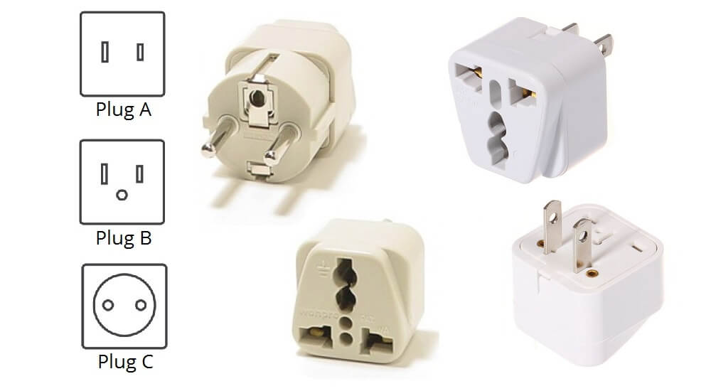 Thailand hacks: know your electrical plug's shape