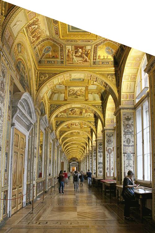 Las Logias de Rafael, una copia del mural del Palacio Apóstolico del Vaticano, encargo hecho por Yecaterina la Grande