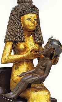 Isis con Horus