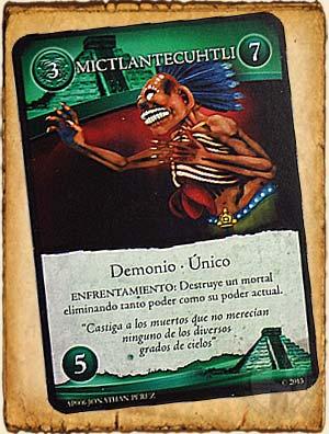 Mictlantecuhtli en Guerra de Mitos -  Mitología Azteca