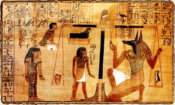 Mitología Egipcia - Juicio de Osiris