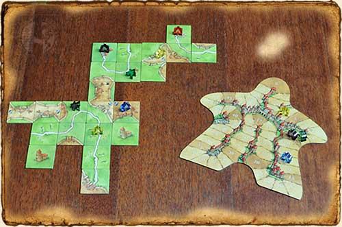 Juegos de Mesa - Carcassonne
