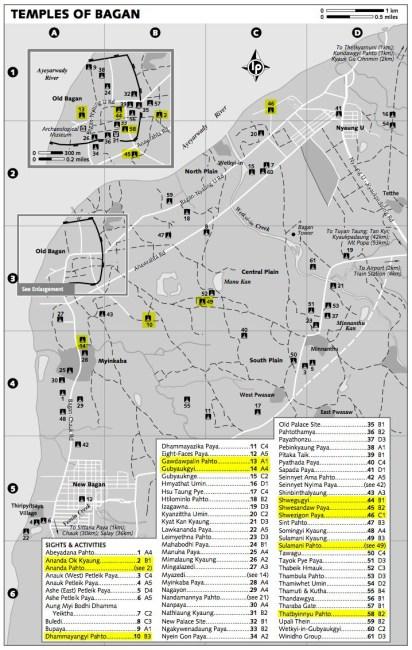 Mapa_Bagan_templos_importantes