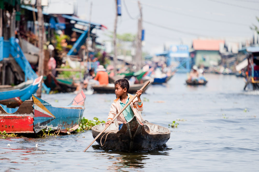 KOMPONG PHLUK, el pueblo flotante del Lago Tonle Sap (DIA 2)