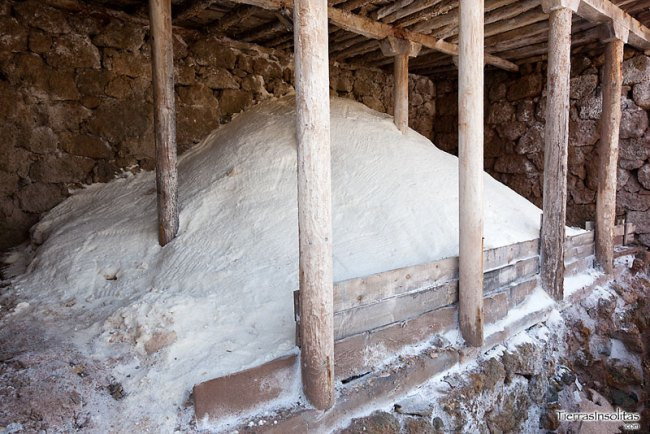 almacén de sal en añana