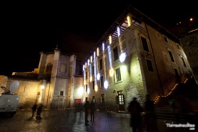 Fachada del Palacio de Villa Suso