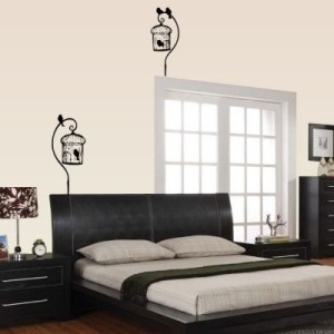 Curl Bird Cage Wall Decal by Kowalla