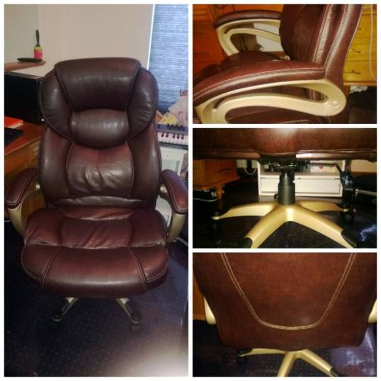 Finished office chair