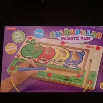 Magnetic balls/wand Worm