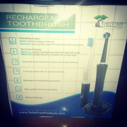 Rechargeable Electric Toothbrush with charging base